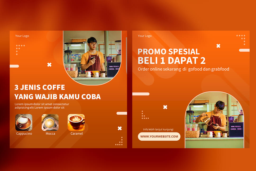 Desain Instagram Feed Tips Coffee Shop