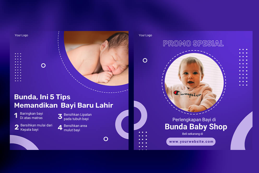 Desain Instagram Feed Tips Baby