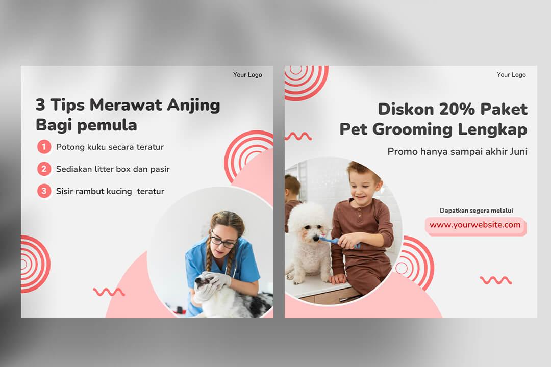 Desain Instagram Feed Tips Pet Shop